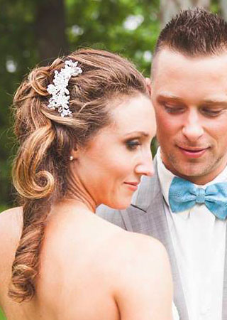 Updo Hair Wedding KP1
