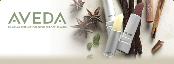 Aveda products available at Luxe.