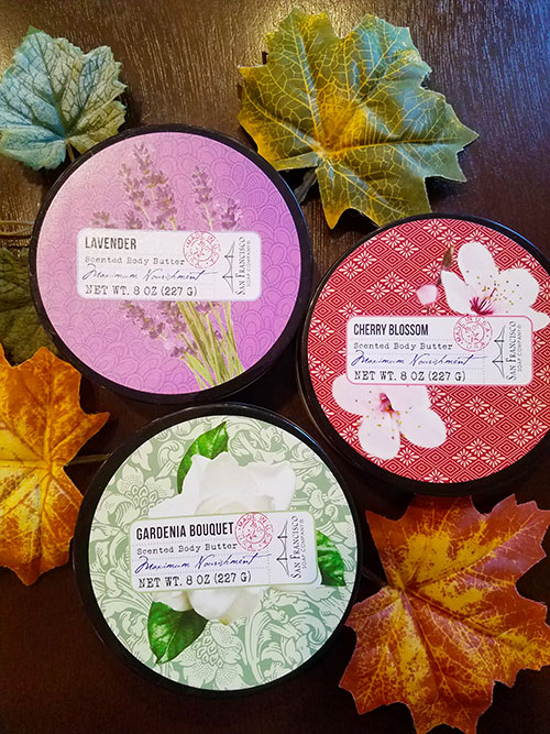 Scented Body Butters