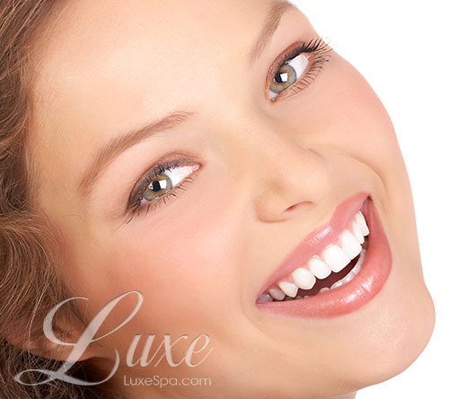 Women with perfect facial skin, Microblading at Luxe Rochester, NY