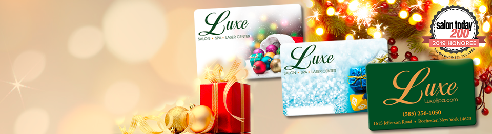 Give the Gift of Luxe this Holiday!